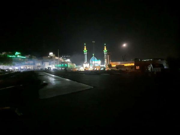 میدانگاه صالحیه(ع) برای مراسم شب های قدر آماده می شود