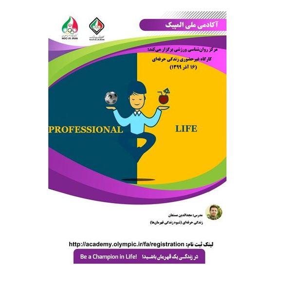 کارگاه آموزشی زندگی حرفه ای (شیوه زندگی قهرمانها)