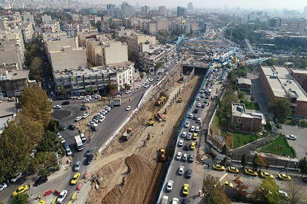 تشریح جزئیات طرح بازنگری شده زیرگذر کوی نصر