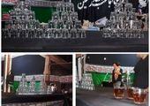 برافراشته شدن بیرق عزای سالارشهیدان در معابر منطقه 15