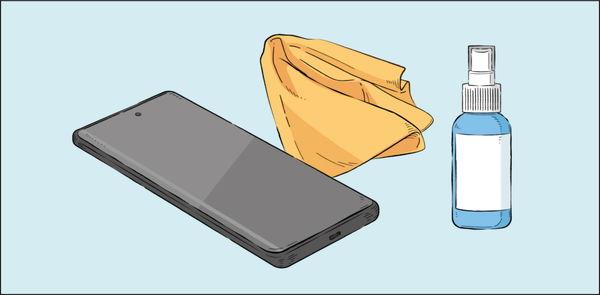 نکاتی که هنگام تمیز کردن گوشی باید به آن توجه کنید