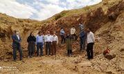 بازدید از معادن شهرستان سیرجان جهت احیا و فعال سازی معادن کوچک مقیاس