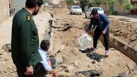 آبرسانی به 7 روستای استان قم به همت سپاه و حمایت بنیاد خیریه ابراهیمی