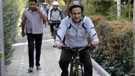 بازدید میدانی شهردار منطقه 13 از ناحیه سه با دوچرخه