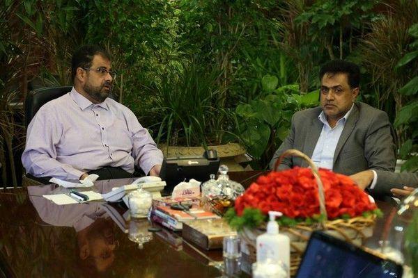 هم اندیشی مدیرکل ثبت احوال تهران با مدیرعامل سازمان بهشت زهرا(س)