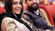 تیپ عجیب و غریب محسن افشانی و همسرش + عکس