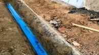 ۵۰۰۰ هزار متر از شبکه توزیع آب قیامدشت بازسازی شد