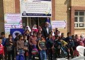افتتاح ششمین مدرسه شهدای بانک دی در استان لرستان