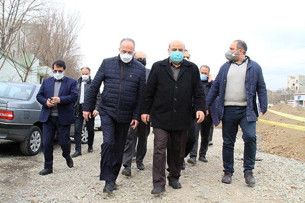 بازدید عضو کمیسیون عمران مجلس شورای اسلامی از 2 پروژه مهم عمرانی