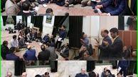 دیدار مردمی  شهردار منطقه شش تهران در مسجد الرحمن