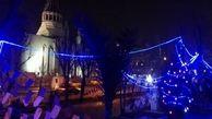زیباسازی و بازپیرایی محوطه بیرونی کلیساها در قلب پایتخت