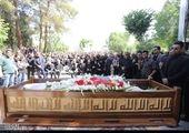 سیروان خسروی در مراسم تشییع بهنام صفوی+ عکس