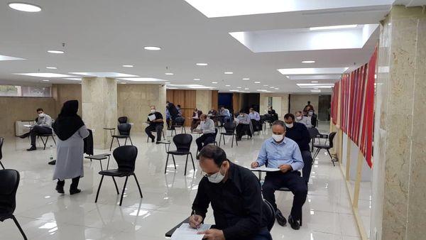 بازدید مدیرعامل بیمه ایران از فرایند آزمون سراسری شایستگی کارکنان
