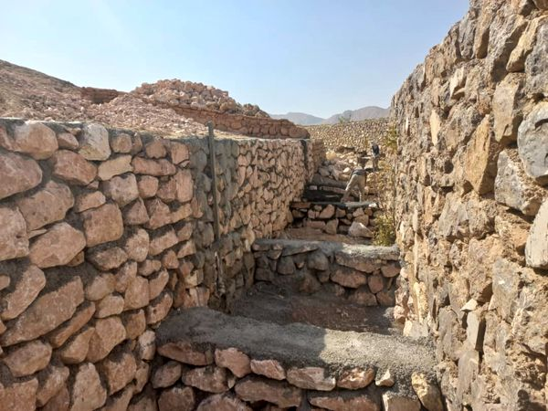پایان مرمت دیوار چینی مسیل آتشکده تاریخی آتشکوه محلات