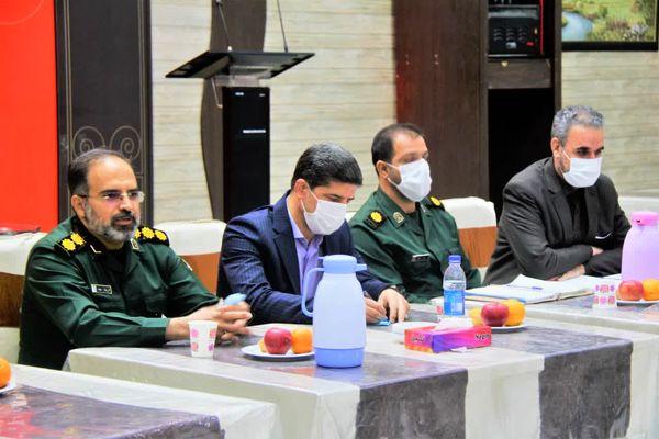 نشست هیئتهای ورزشی بسیج و سپاه قم با مدیرکل ورزش و جوانان استان