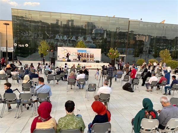 در سومین روز هفته فرهنگی المپیک ۲۰۲۰ کردستانی ها شور و نشاط را به تهران آوردند