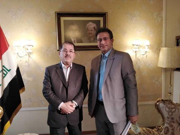 نماینده اقلیم کردستان عراق در ایران مهمان «من طهران» شبکه العالم