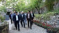 بازدیدشهردار منطقه یک از باغ زعفران و مجموعه پارسیان جماران