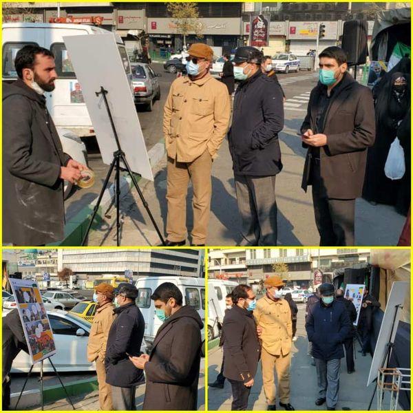 آمادهباش نیروهای شهرداری در دانشگاه تهران