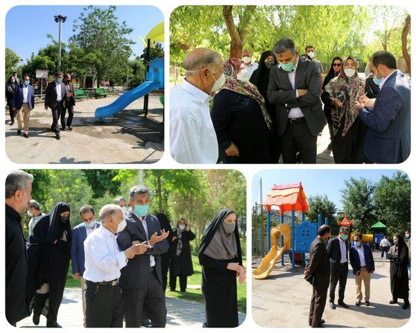بوستان فجر، تفرجگاهی کامل برای اهالی افسریه تهران