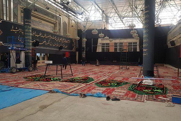  اتمام عملیات مرمت و بازسازی مسجد تاریخی ارک