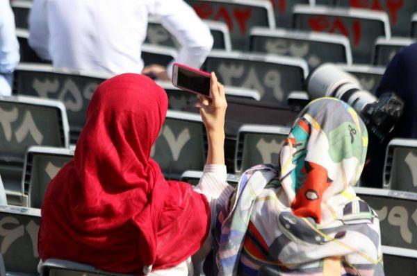 دو خانم ناشناس در تمرین تیمملی+عکس