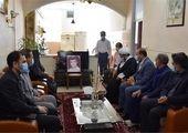 دیدار با خانواده شهداء و جانبازان شرکت گاز استان مرکزی