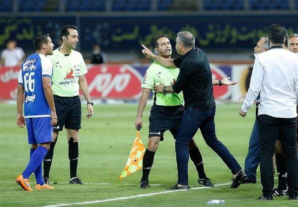 توضیحات رئیس کمیته انضباطی درباره اتفاقات فینال جام حذفی