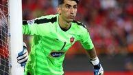 بیرانوند: اجازه نمیدهم کسی بیخودی از من انتقاد کند/اسکوچیچ شناخت عالی از فوتبال ایران دارد