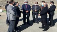 بازدید مدیرکل دیوان محاسبات استان مرکزی از تصفیه خانه فاضلاب شهر خمین