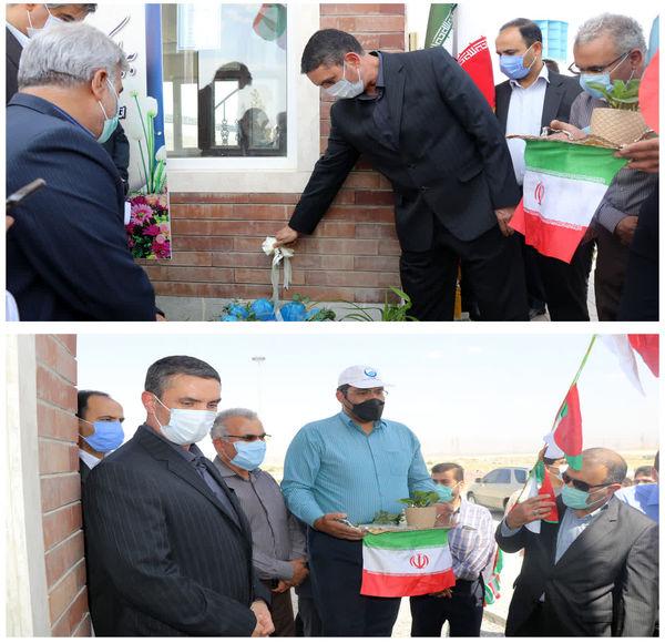 با حضور استاندارمرکزی ، دو پروژه آبرسانی در شهرستان اراک به بهره برداری رسید
