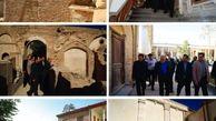 بازدید از روند مرمت و بازسازی خانه اتحادیه
