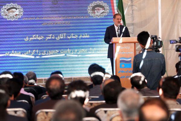 ایران به کارگاه اجرای طرح های بزرگ تبدیل شده است