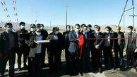 راه روستایی جدیدالاحداث نخجیروان به محمدآباد افتتاح شد.