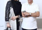 ناصر محمدخانی و همسر جوانش +عکس