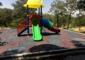 انجام پوشش بی رنگ مواد ضدعفونی در زمین های بازی کودکان