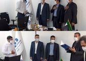 دیدار شهردار منطقه چهارده با فرمانده یگان حفاظت شهرداری تهران