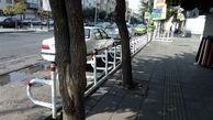 محدوده بازار بزرگ عبدل آباد مجهز به فضای پارک حاشیهای ویژه موتورسیکلت شد