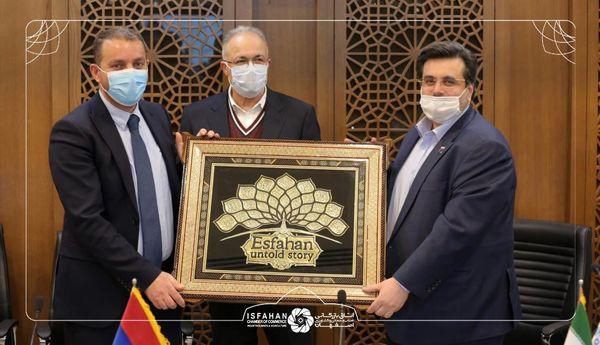 نشست بررسی فرصت های تجاری و سرمایه گذاری در اصفهان و ارمنستان