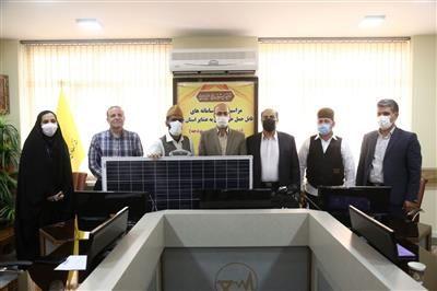 واگذاری سامانه خورشیدی قابل حمل به عشایر استان قم