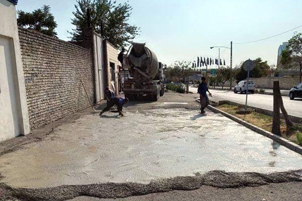آخرین وضعیت اجرایی پروژه های کوچک مقیاس محلی در چهار گوشه پایتخت