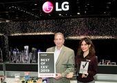 تقدیر از الجی با جوایز برترین نوآوریهای CES 2020