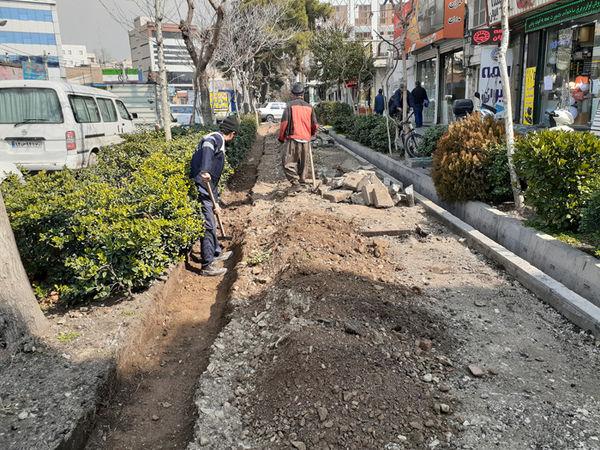 بهسازی بزرگراه های شمال شرق تهران در طرح استقبال از نوروز 99