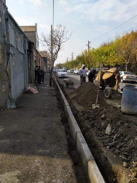 17 کیلومتر کانال کشی در معابر منطقه17