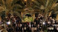 مراسم گرامیداشت شهدای گمنام کیش برگزار شد