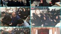 اجرای طرح چهل روضه در چهل بیت معظم شهید فیروزی در ناحیه یک منطقه شش