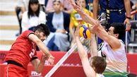 تیم والیبال ایران مقابل استرالیا پیروز شد