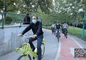 احداث 1200متر مسیر دوچرخه در ضلع شمالی خیابان آزادی
