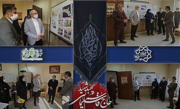 بازدید شهردار منطقه ۱۵از پایگاه مراقبت طرح شهید قاسم سلیمانی در محله مسعودیه
