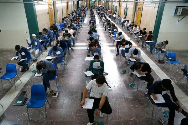 تنبیه دانش آموزان موبایل به دست ! +عکس
